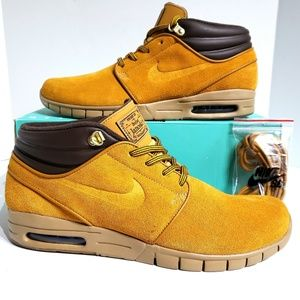 Nike Stefan Janoski Max Mid Premium Skate Shoes